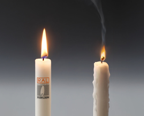 RAL Gütezeichen für Kerzen