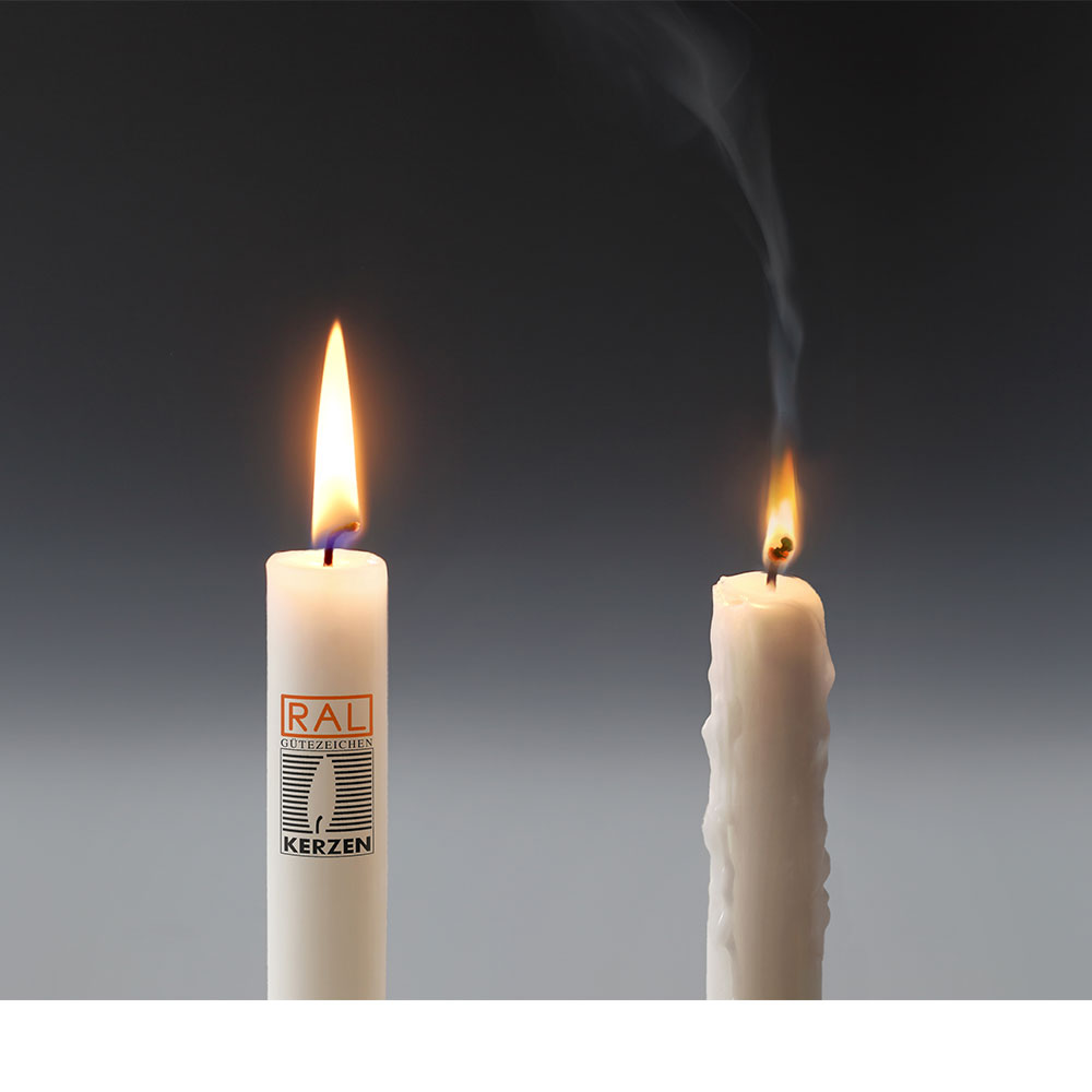 Candle Kerzen.Ral Quality Mark For Candles Home